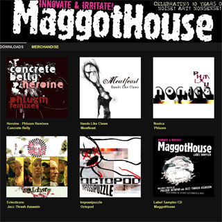 MaggotHouse Music at Bandcamp